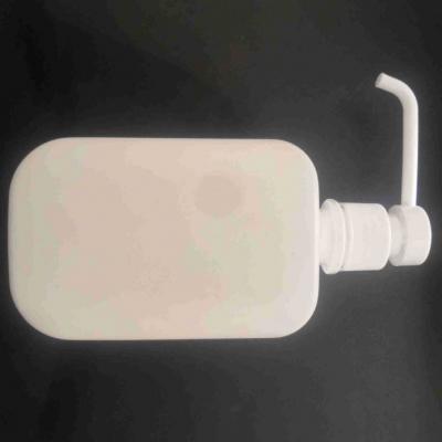 现货供应PE方瓶500ml洗手液瓶消毒水瓶长杆消毒凝胶塑料瓶