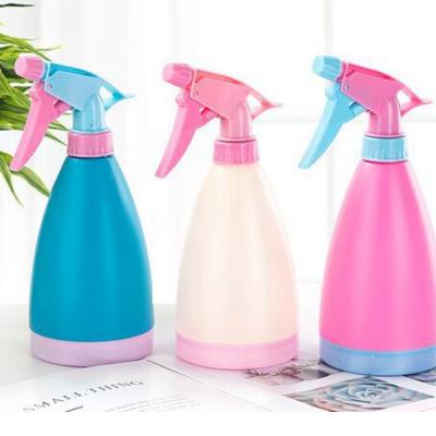 日用百货喷水壶 洒水壶喷雾器 微景观手压式喷壶糖果色喷雾瓶